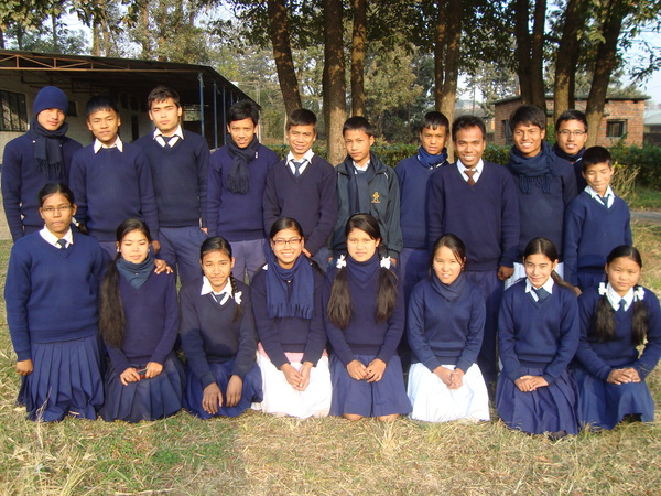 Group photo of school children